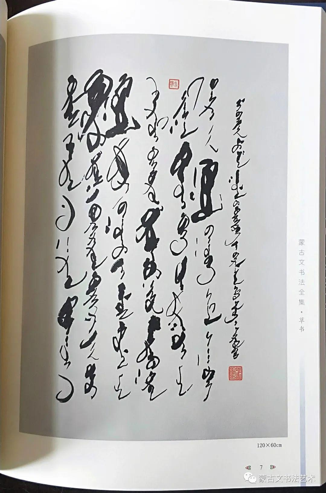 蒙古文书法全集 第18张