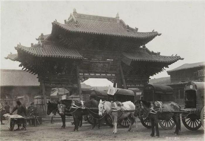 民国时期的内蒙古呼和浩特老照片、太珍贵了 第3张
