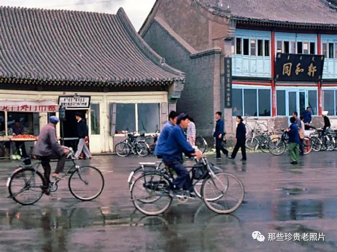 一组1983年拍摄的内蒙古呼和浩特老照片,几代人共同的记忆