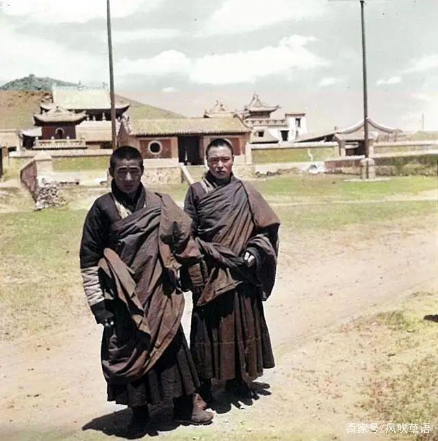 内蒙古老照片:1939年的多伦县汇宗寺(东大仓)