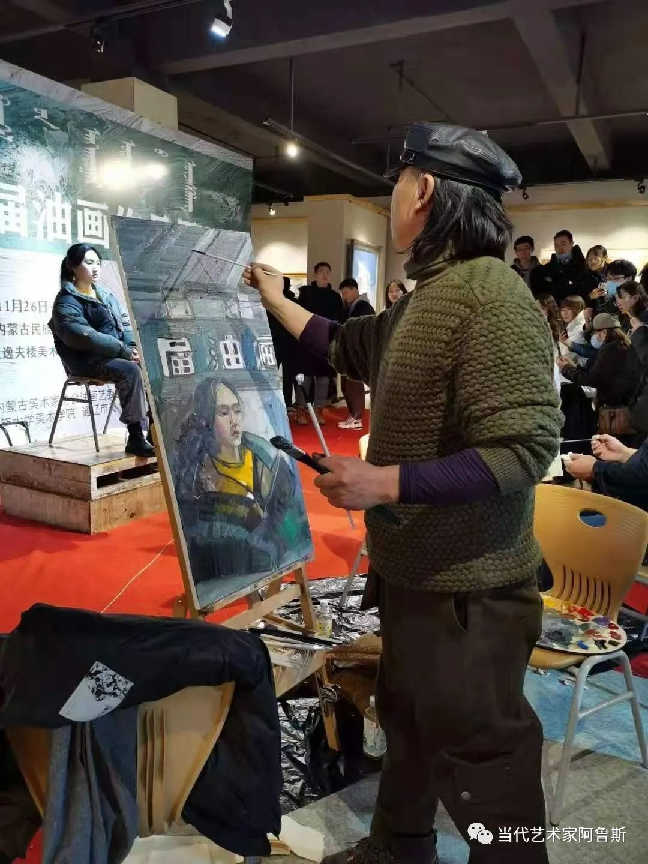 【传承经典】著名画家文胜一奋进新时代砥砺新作为优秀作品展 第2张