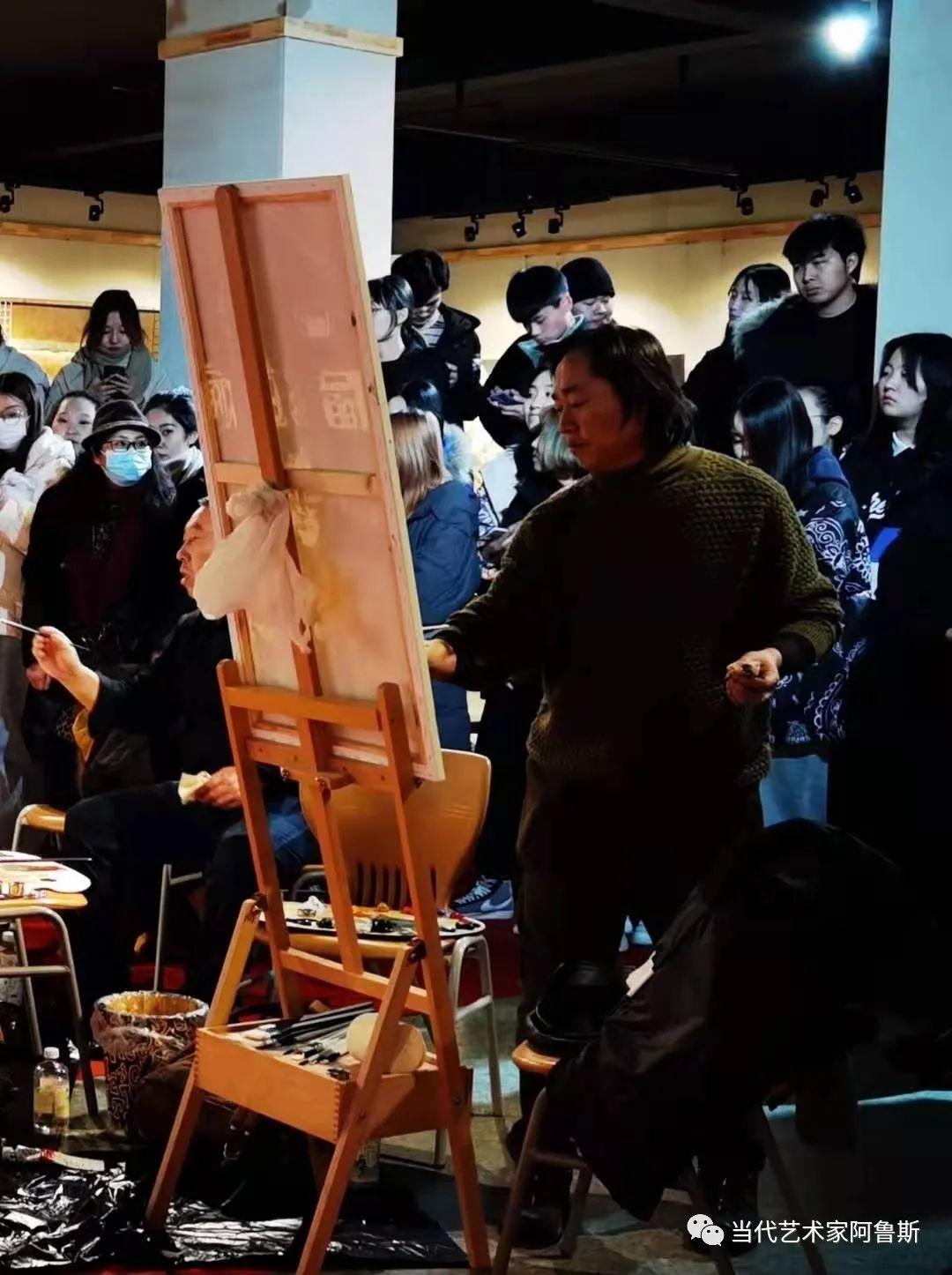 【传承经典】著名画家文胜一奋进新时代砥砺新作为优秀作品展 第4张
