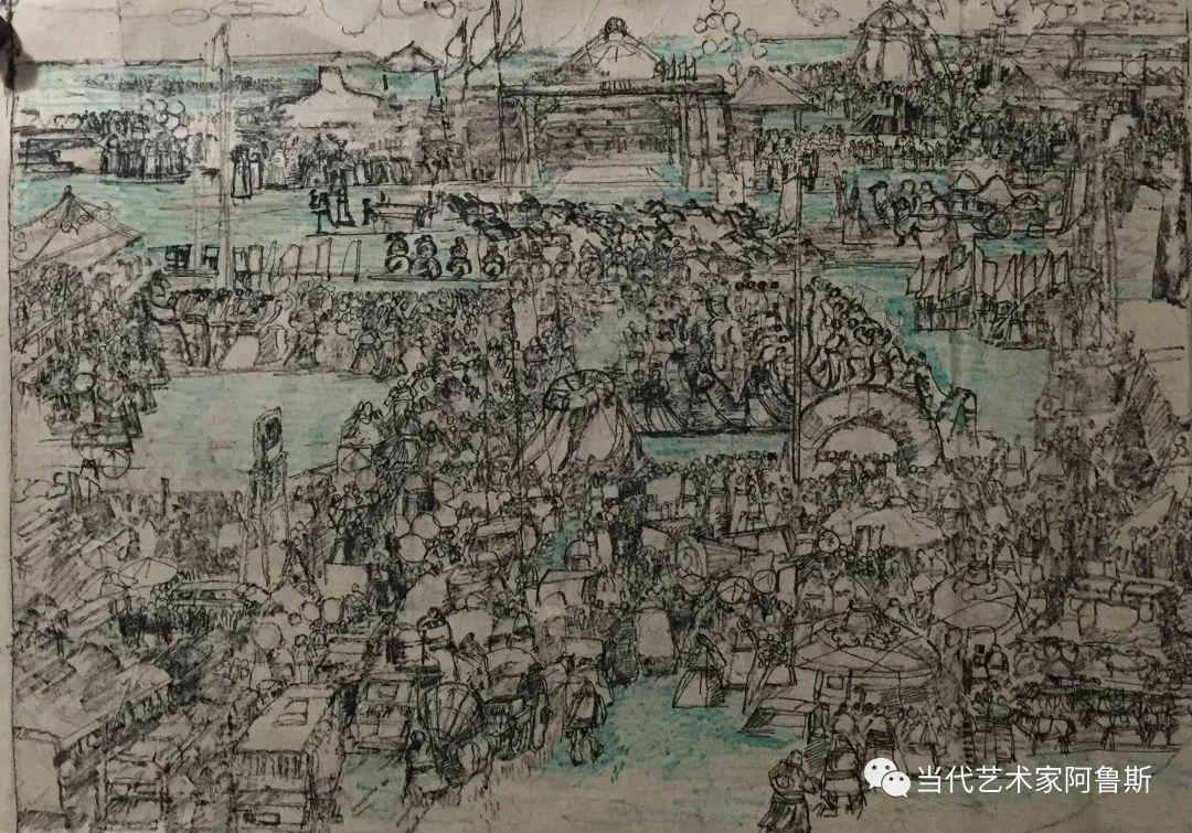 【传承经典】著名画家文胜一奋进新时代砥砺新作为优秀作品展 第11张