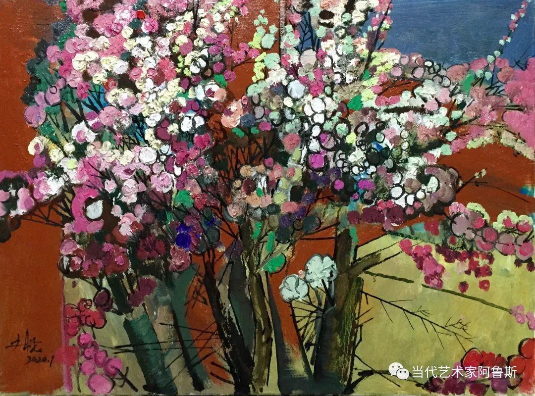 【传承经典】著名画家文胜一奋进新时代砥砺新作为优秀作品展 第12张