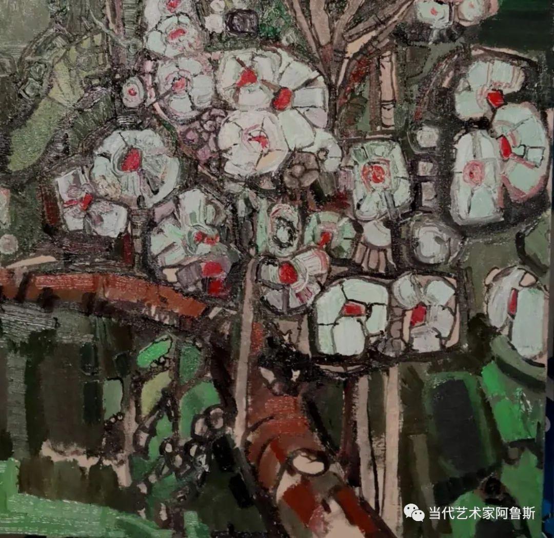 【传承经典】著名画家文胜一奋进新时代砥砺新作为优秀作品展 第36张