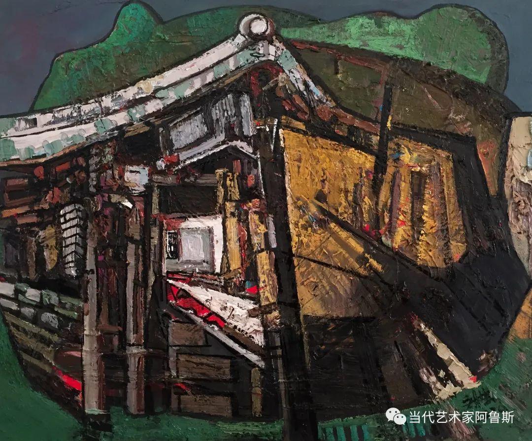 【传承经典】著名画家文胜一奋进新时代砥砺新作为优秀作品展 第38张