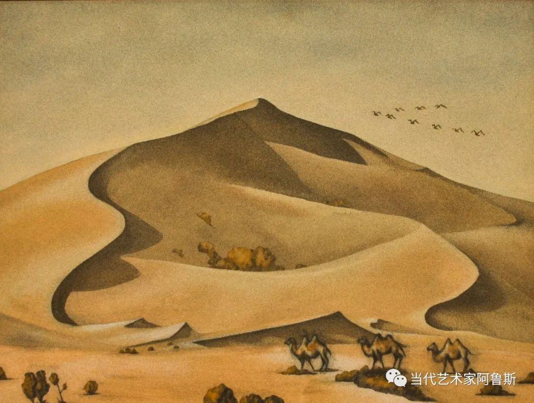 世界文化艺术研究中心非物质文化遗产保护专业委员会会员阿拉塔毕力格艺术作品展 第25张