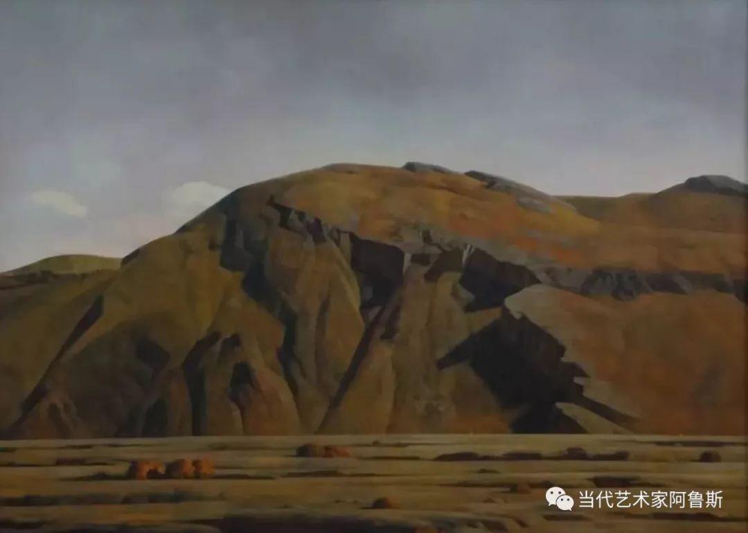 《艺术世界本期专访》著名蒙古族画家德钦作品展 第4张