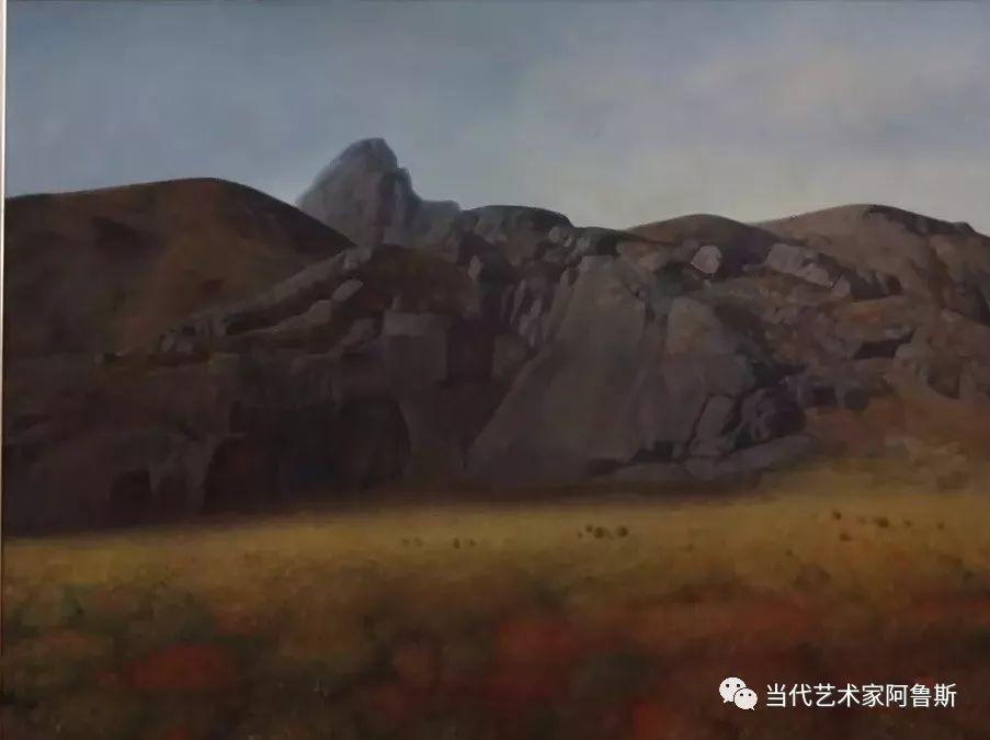《艺术世界本期专访》著名蒙古族画家德钦作品展 第5张