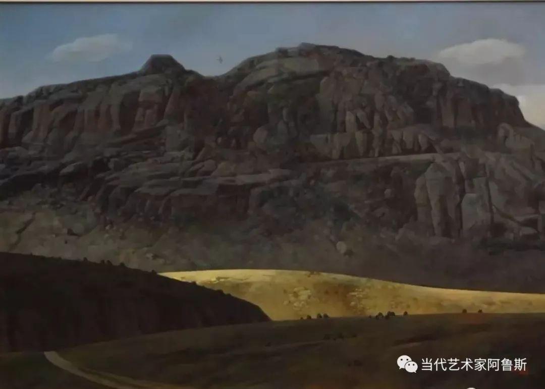 《艺术世界本期专访》著名蒙古族画家德钦作品展 第11张