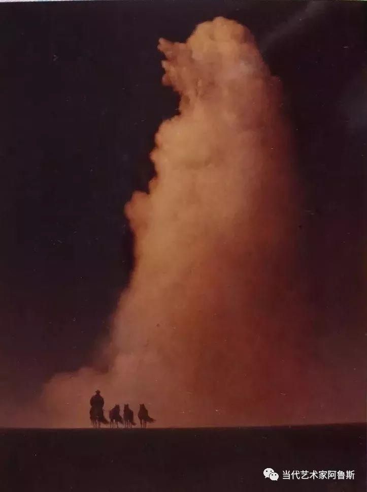 《艺术世界本期专访》著名蒙古族画家德钦作品展 第17张