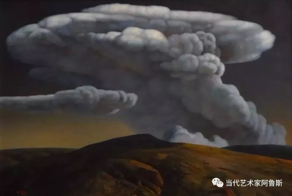 《艺术世界本期专访》著名蒙古族画家德钦作品展 第19张
