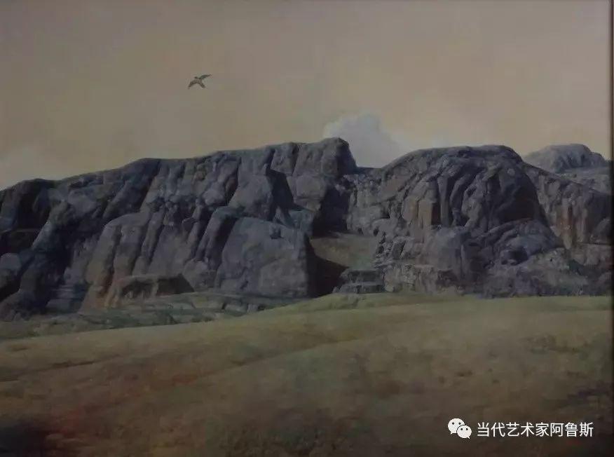 《艺术世界本期专访》著名蒙古族画家德钦作品展 第21张