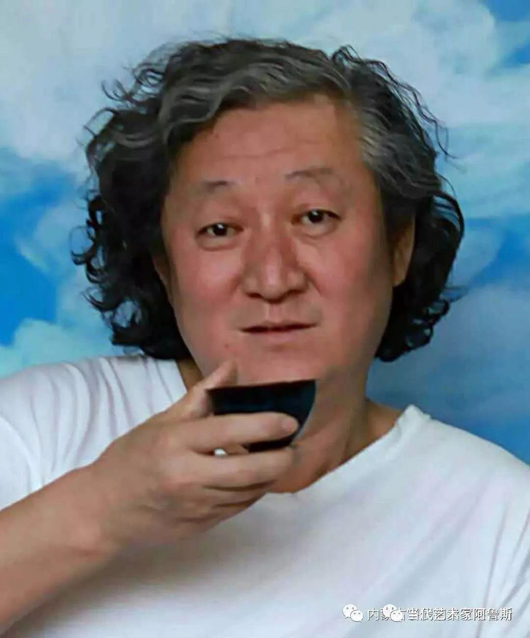 《艺术世界本期专访》蒙古族著名画家莫尼作品展 第1张