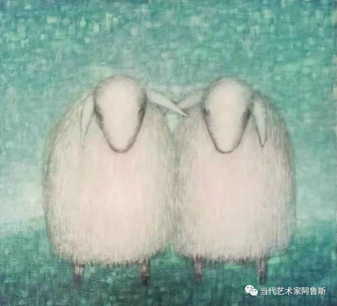 《艺术世界本期专访》蒙古族著名画家莫尼作品展 第4张