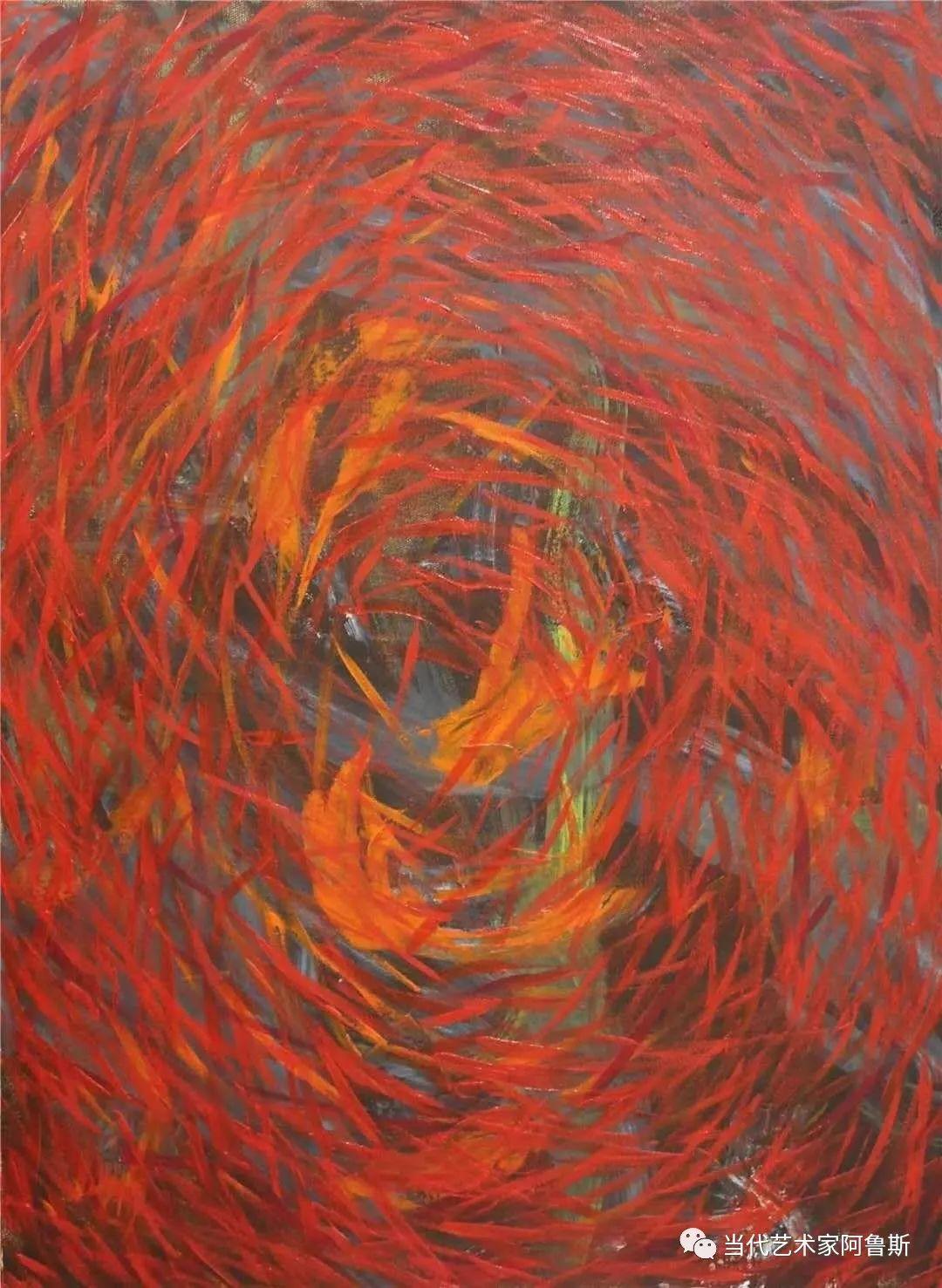 《艺术世界本期专访》蒙古族著名画家莫尼作品展 第14张