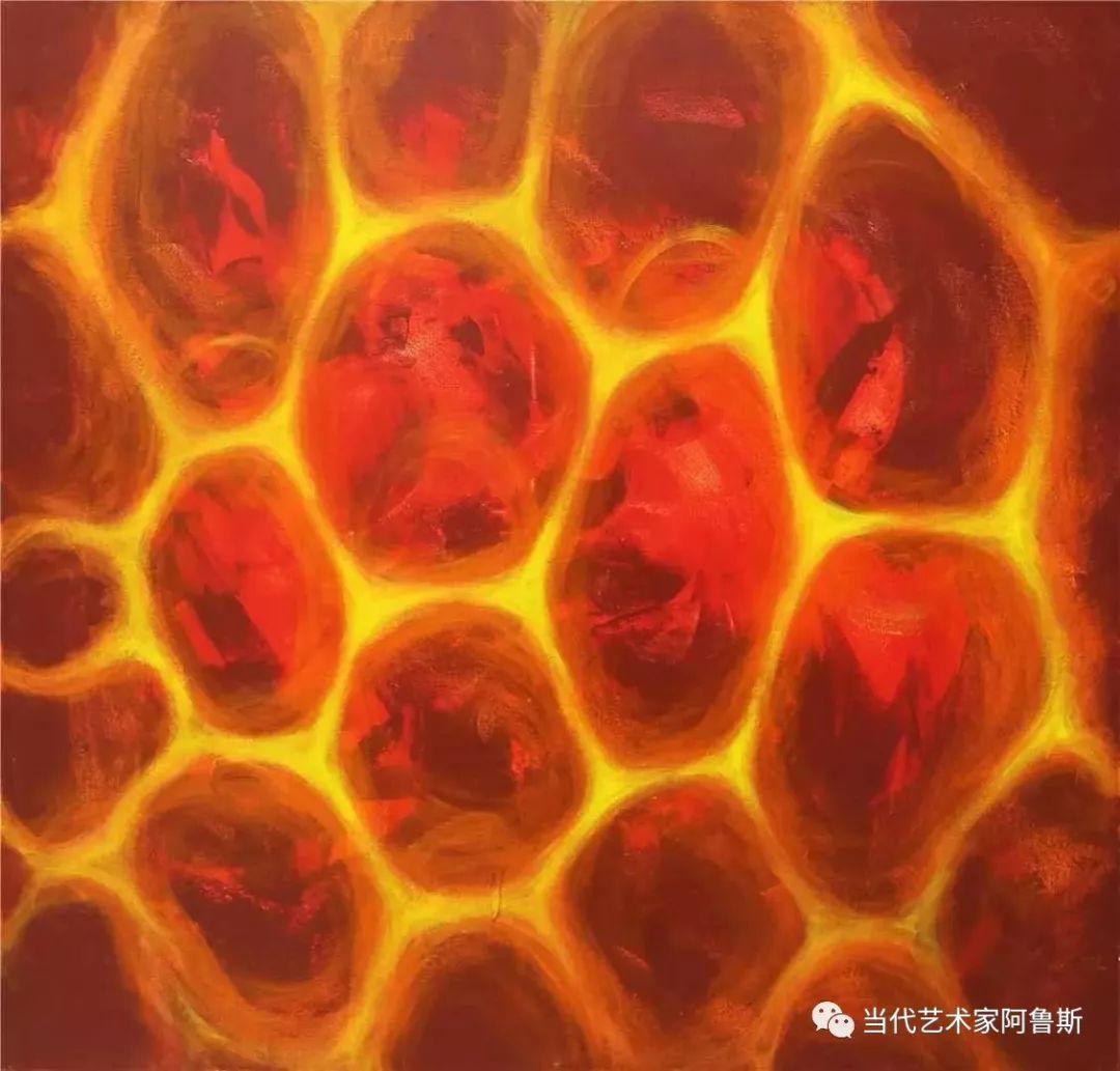 《艺术世界本期专访》蒙古族著名画家莫尼作品展 第18张