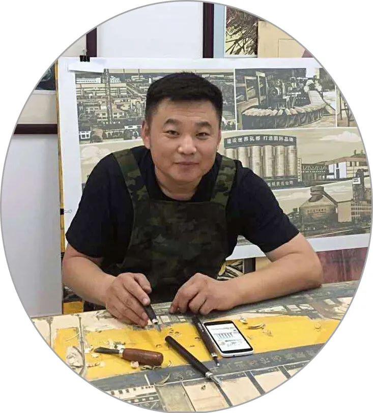 版画家资讯 | 王智成版画作品