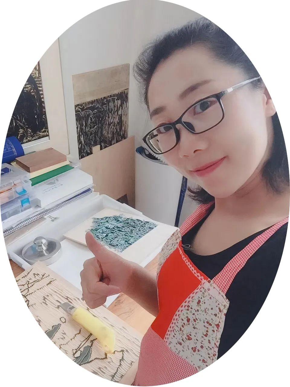 版画家资讯 | 王景婧版画作品