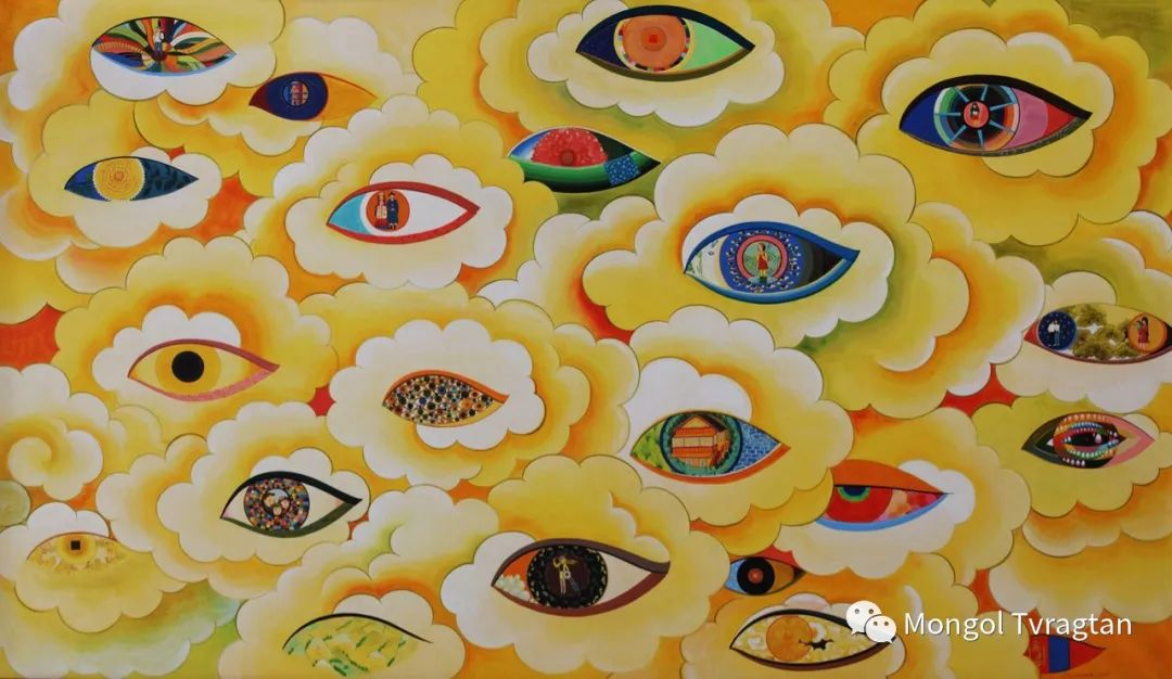 乌,乌日吉哈达美术作品ᠤᠷᠠᠨ ᠵᠢᠷᠤᠭ- ᠤ᠂ ᠦᠷᠡᠵᠢᠨᠬᠠᠨᠳᠠ