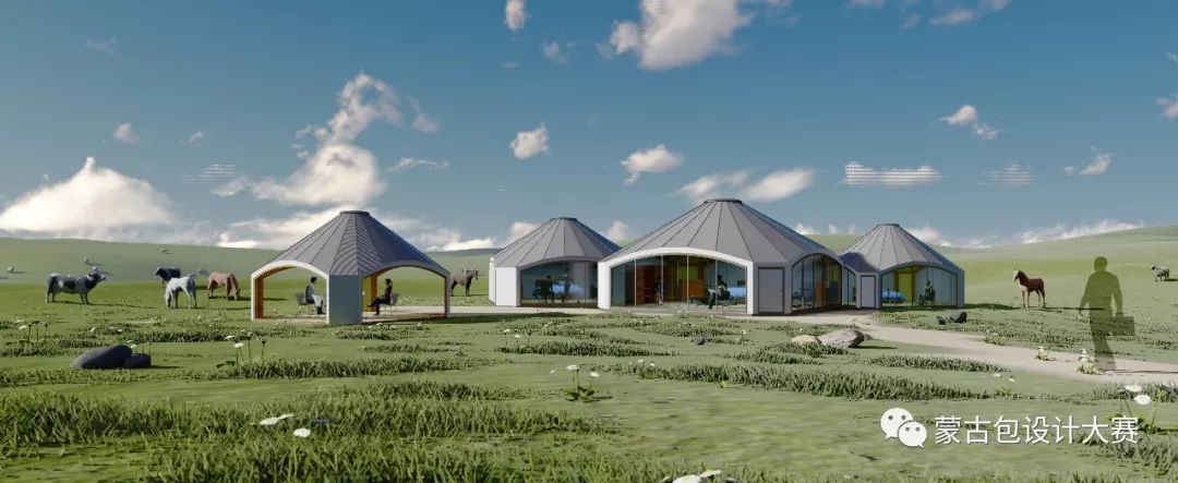 草原上的蒙古包—蒙古包设计